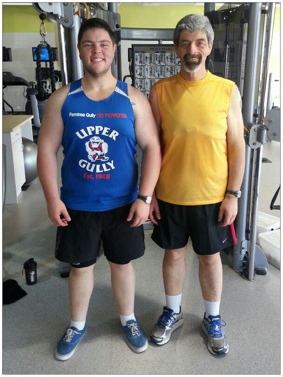 Mark and I at Aqua Energy Gym 8 Sep 2013