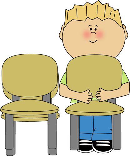 Bathroom signs for classroom - Classroom Chair Stacker Clip Art Classroom Chair Stacker