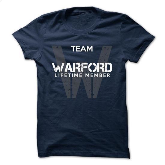 WARFORD - TEAM WARFORD LIFE TIME MEMBER LEGEND - #womens tee #cowl neck hoodie. SIMILAR ITEMS => https://www.sunfrog.com/Valentines/WARFORD--TEAM-WARFORD-LIFE-TIME-MEMBER-LEGEND.html?68278
