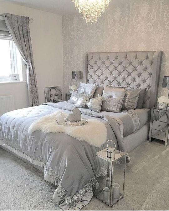 Sandramarkas1 Grey Bedroom Design Silver Bedroom Remodel Bedroom