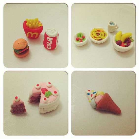 Play doh mini foods and plays on pinterest for Play doh cuisine