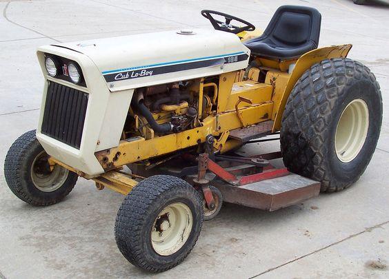 International Cub Parts : Ih cub lo boy tractor garden tractors