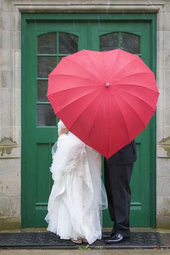 Sposa bagnata, sposa fortunata!