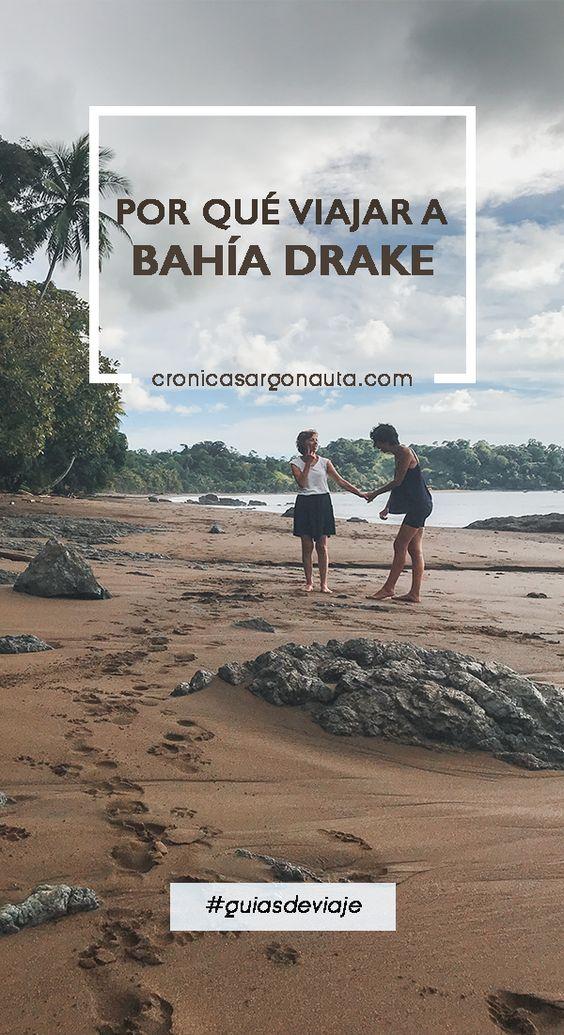 5 razones para viajar a Bahía Drake, en la Península de Osa, Costa Rica.