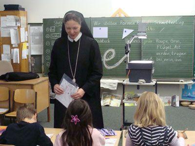Sr. Karolina in education