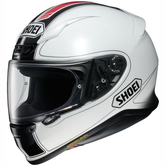 Shoei Nxr Helmet Flagger Tc 6 White Black Red Free Uk