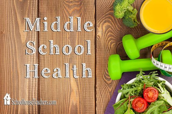 Middle School Health  Middle School Health is a twenty-four week course that looks at topics such as personal hygiene, nutrition, fitness, emotions, and safety. Instruction is done primarily through links to various articles and videos. Each lesson concludes with several study questions.