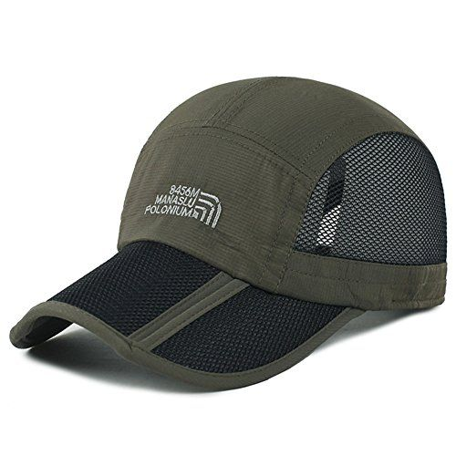 Baseball Cap Men Adjustable Trucker Strapback Outdoor Sports Boys Peaked Sun Hat