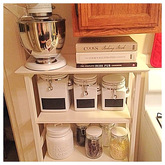 Kitchen Organization Tools: Kitchen Organization. Baking Area In Kitchen. Baking Tools