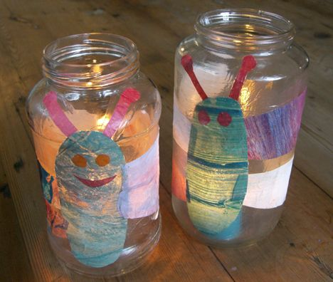 how to make fireflies in a jar