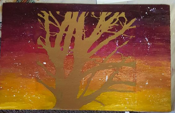 Paint with me #treeoflove