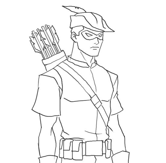f red arrow coloring pages - photo #23