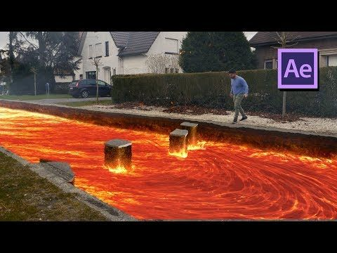 The Floor Is Lava Challenge In After Effects Vfx Tutorial