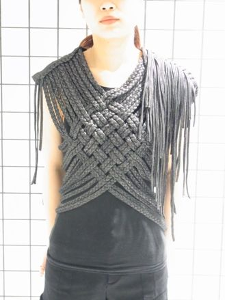 Weave and knit, super cute, maybe a tad less fringe