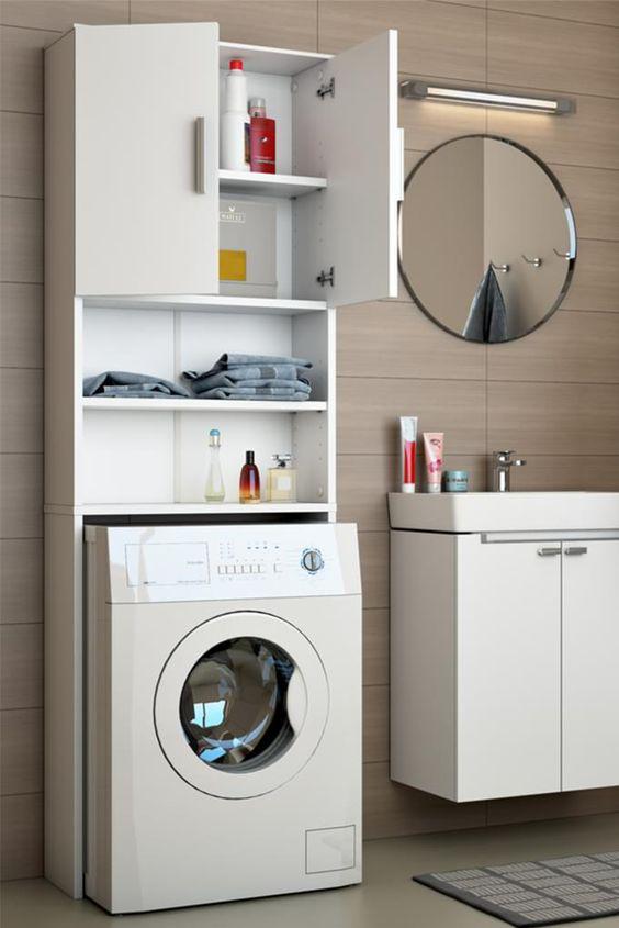 Vicco Waschmaschinenschrank Weiss 190 X 64 Cm Badregal Hochschrank Waschmaschine Bad Schrank Badezimmerschrank Uberbau Hochschrank Badezimmer Schrank Und Schrank