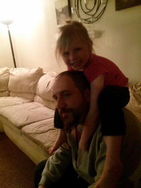 Adriana loves her daddy!