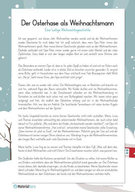 Lustige Weihnachtsgeschichte Lustige Weihnachtsgeschichte Weihnachtsgeschichte Weihnachten Geschichte