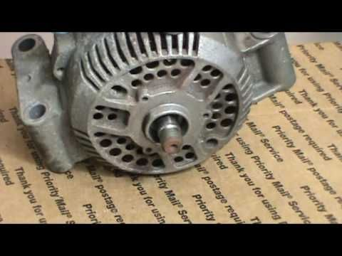 How to make a Ford 3G alternator into high amp  - YouTube