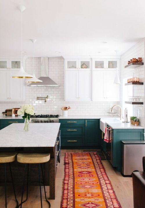 Colores Para Cocinas 2019 2018 70 Fotos Y Tendencias Modernas