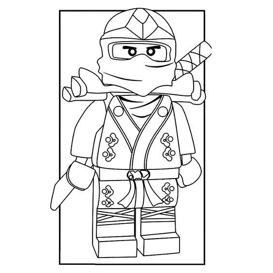 new ninjago coloring pages - photo#32