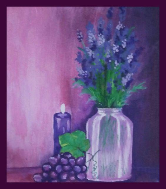 NFAC. original painting acrylic-GREEN-no frame #Asian