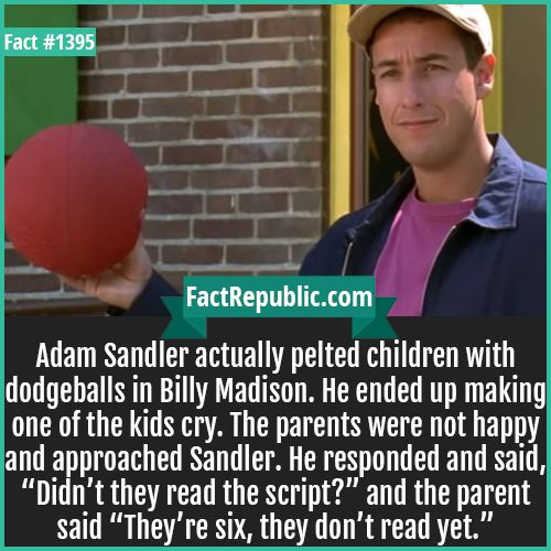 Fact Cards Fact Republic Where Facts Are Born Picture Facts With Sources Funny Romantic Quotes Adam Sandler Adam Sandler Memes