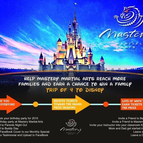 Disney Giveaway Postcard Flyer Or Print Contest Postcard Flyer Print Design Disney Giveaway Environmental Design Illustration Postcard