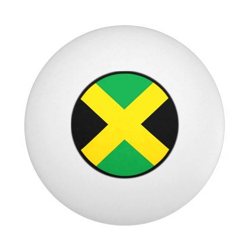 Flag Of Jamaica Ping Pong Ball Zazzle Com Jamaica Flag Ping Pong Printing Double Sided