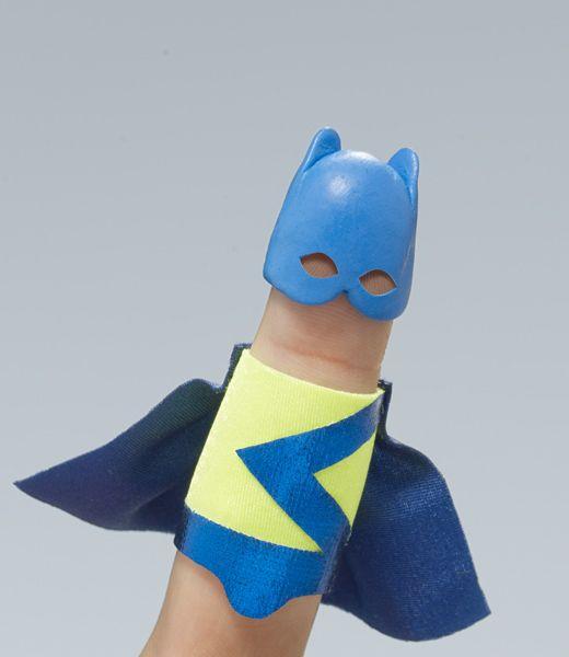 Finger pupper cosplay!
