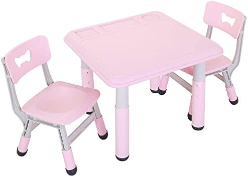 Round Kids Folding Table And Chairs Portraits