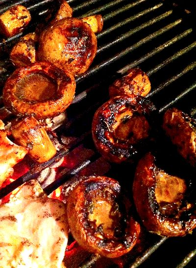 """Best Balsamic Mushrooms!  I couldn't choose between calling them """"Best"""" or """"Amazing""""... these mushrooms are BOTH :)"""