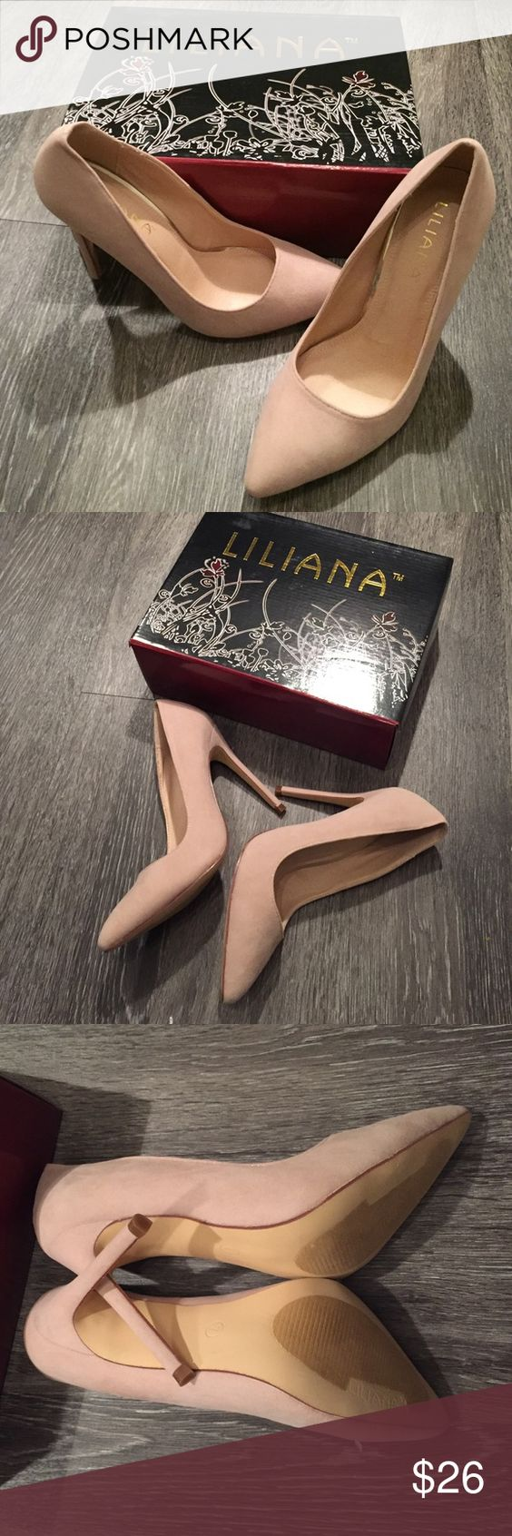 Nude pumps New with box Shoes