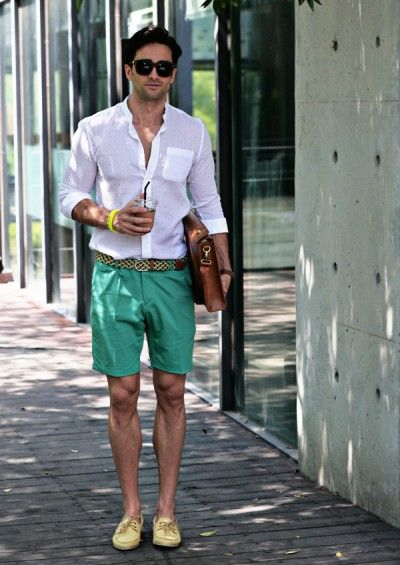 Pastel Shorts Mens