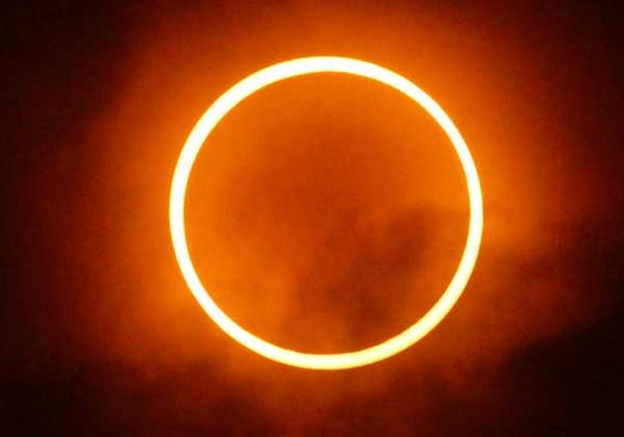Eclipse seen from Japan yesterday!
