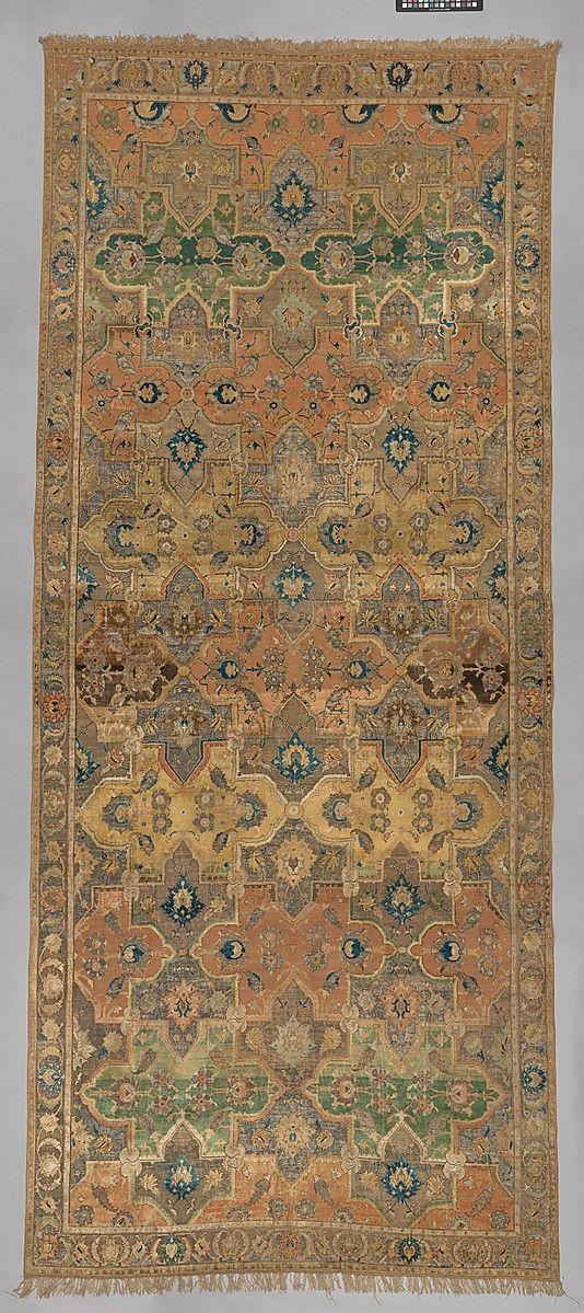 Polonaise Carpet  17th İran
