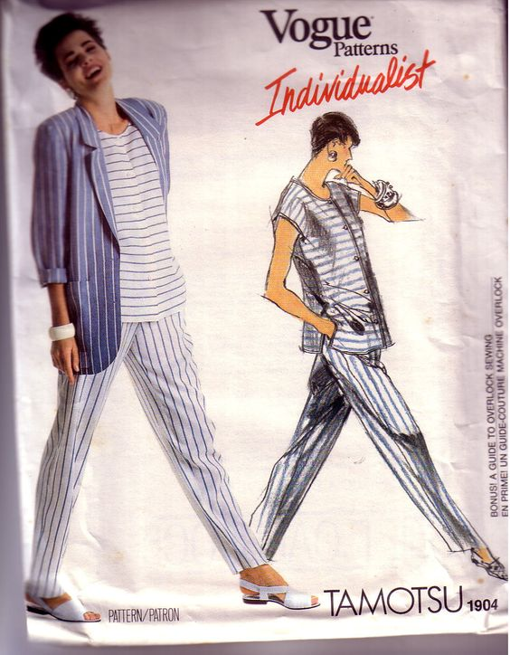 Vogue Individualist Pattern Tamotsu 1904 by ArdythesOrphans