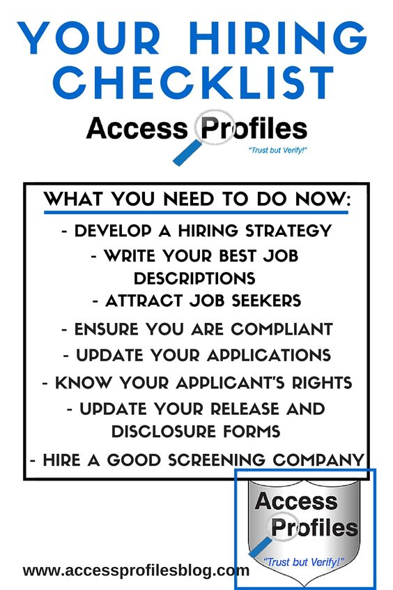 Hiring Safely And Protecting Your Small Business Begins By Using