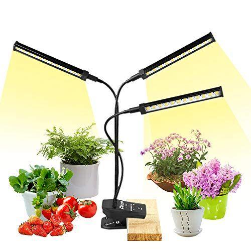 Nacot Lampe De Plante 72w 144 Led Lampe Croissance Floraison Spectre Complet 0 100 Luminosite Dimmable Lampe Hort En 2020 Lampes Horticoles Lampe Pour Plante Minuteur