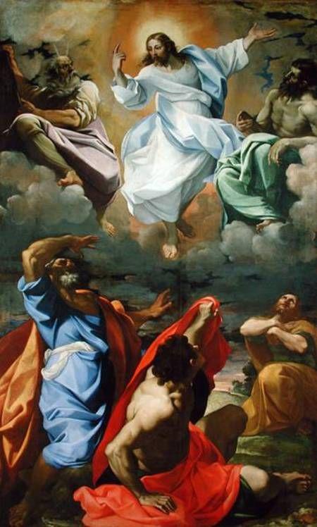 """""""Transfiguração de Jesus"""". (1594).        (by Caracci)."""