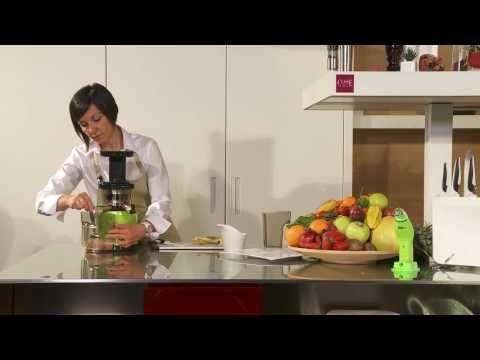 Smoothie Fragola e Banana Estrattore VIVO Smart mp4 - YouTube