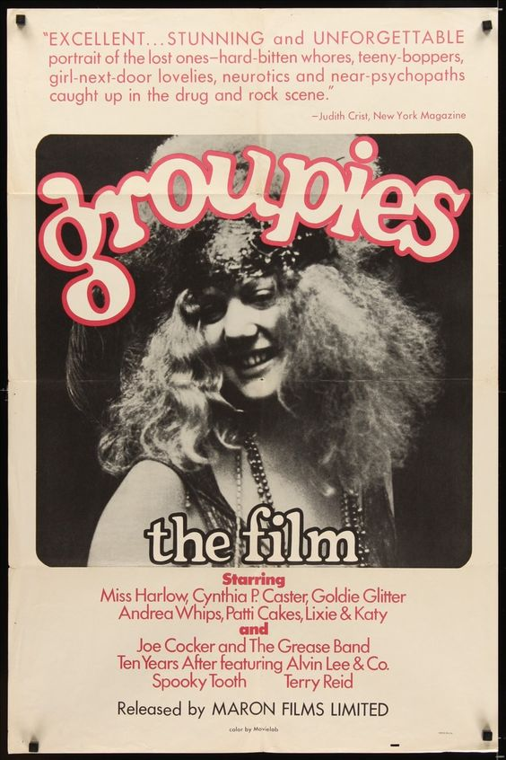 Groupies 1970 rare documentary 2of2