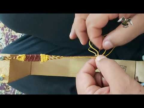 صناعة سبوق طير Diy Falconry Jesses Youtube Drop Earrings Falconry Diy