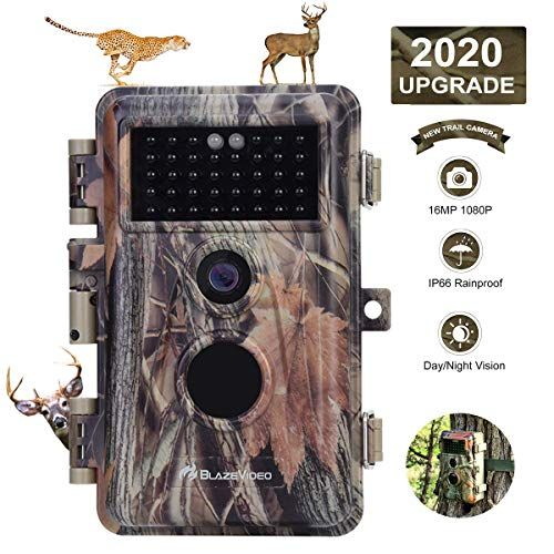 Trail Camera Night Vision Waterproof IP66 IR HD 3mp 1920*1080P Video