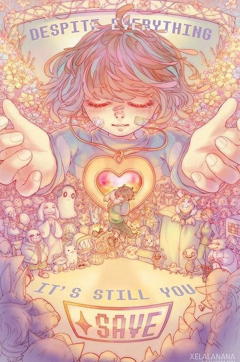 Undertale The Good Ending (No Source...) | Undertale | Pinterest ...