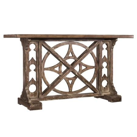 I pinned this Rafferty Console Table from the Hooker event at Joss and Main!