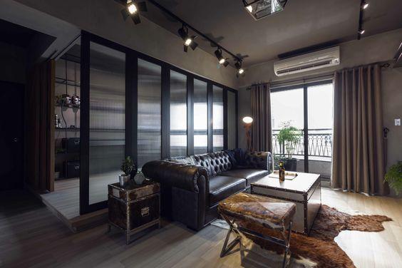 a massive leather chesterfield has the comfortable luxury befitting of tony stark bedroom upstairs tony stark