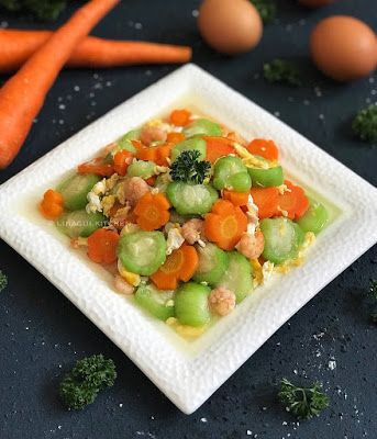 Resep Tumis Sayur Oyong Atau Gambas Simpel Ala Rumahan By Linagui Kitchen Resep Masakan Resep Masakan Simpel
