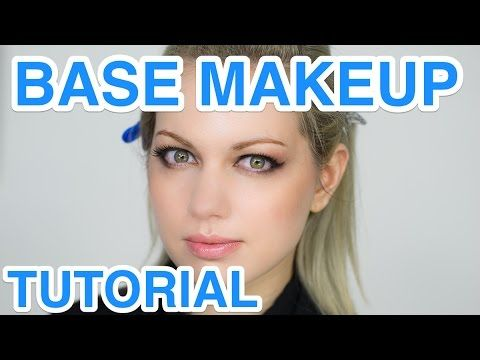 Base Makeup Tutorial by PROFESSIONAL MAKEUP ARTIST for Steam Punk | ヘアメイクのプロのベースメイク講座 - YouTube