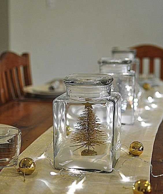 The magic of fairy lights for holiday decorating trees for Christmas glass jar decorations