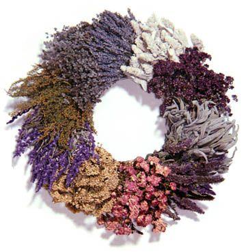10 herb wreath